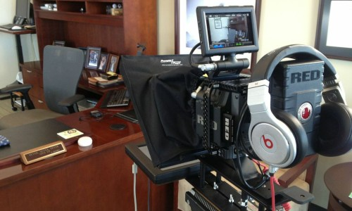corporate-interview-video-production-teleprompter-operator-denver