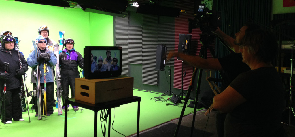 Video production in Denver for Pixar Animation Studios project.