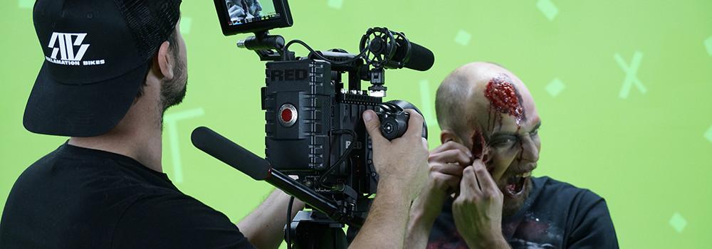 Denver VFX project filming session
